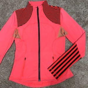 Lululemon Zip Up Jacket Striped